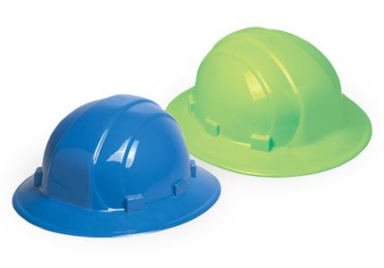 ERB Omega II Full Brim Hard Hats | Customhardhats.com
