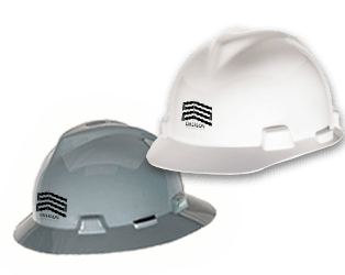 MSA V-Gard Hard Hats | Customhardhats.com