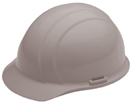 ERB Americana Standard Gray Hard Hat | Customhardhats.com