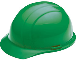 ERB Americana Standard Green Hard Hat | Customhardhats.com