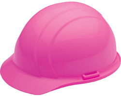 ERB Americana Standard high visibility pink hard hat