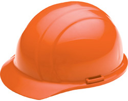 ERB Americana Standard orange hard hat