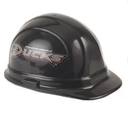 Anaheim Ducks Team Hard Hat | Customhardhats.com