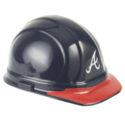 Atlanta Braves Team Hard Hat | Customhardhats.com