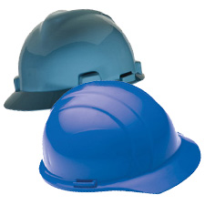 Blue Hard Hats