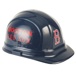 Boston Red Sox Team Hard Hat | Customhardhats.com