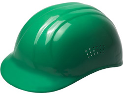 ERB Bump Cap® Standard Green Hard Hats | Customhardhats.com