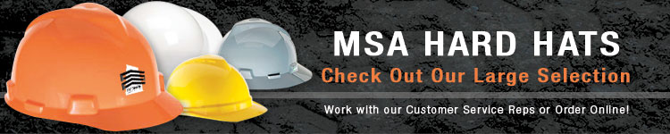 MSA Hard Hats | CustomHardHats.com