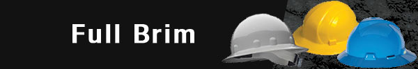 Full Brim Hard Hats | CustomHardHats.com