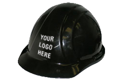 ERB Americana Standard Black Hard Hat | Customhardhats.com