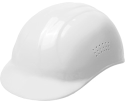 ERB Bump Cap® Standard White Hard Hats | Customhardhats.com