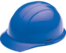 ERB Liberty Standard Blue Hard Hat | Customhardhats.com