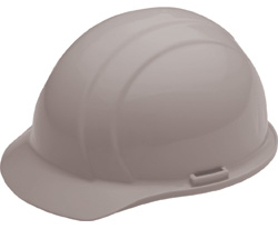 ERB Liberty Standard Gray Hard Hat | Customhardhats.com