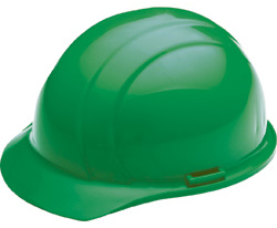ERB Liberty Standard Green Hard Hat | Customhardhats.com