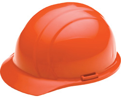 ERB Liberty Standard Hi-Viz Orange Hard Hats | Customhardhats.com