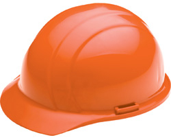 ERB Liberty Standard Orange Hard Hats | Customhardhats.com
