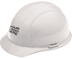 ERB Liberty Standard white hard hat