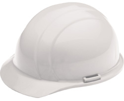 ERB Liberty Standard - White Hard Hat | Customhardhats.com