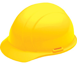ERB Liberty Standard Yellow Hard Hat | Customhardhats.com