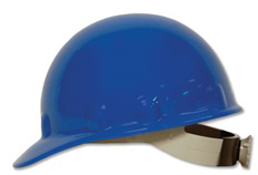E-2 Fibre Metal Standard - Blue Hard Hat | Customhardhats.com