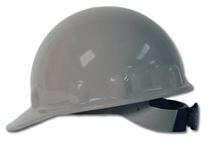 E-2 Fibre Metal Standard - Gray Hard Hat | Customhardhats.com