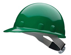 Fibre-Metal® Standard Green Hard Hats | Customhardhats.com