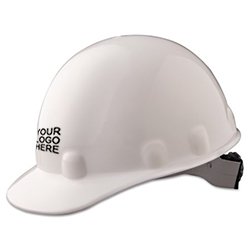 E-2 Fibre Metal Standard - White Hard Hat | Customhardhats.com