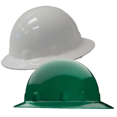 E-1 Fibre-Metal Full Brim Hard Hats