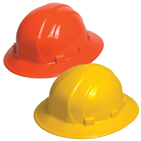 ERB Omega II Full Brim Hard Hats