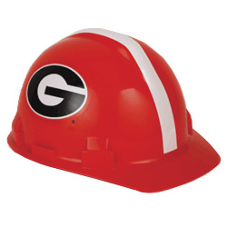 Georgia Bulldogs Team Hard Hat | Customhardhats.com