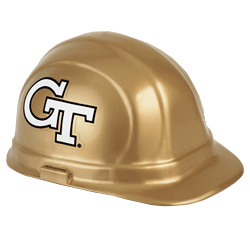 Georgia Tech Yellow Jackets Team Hard Hat | Customhardhats.com