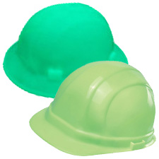 Glow in the Dark Hard Hats