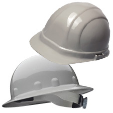 Gray Hard Hats