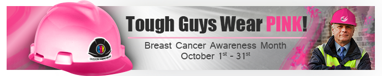 Breast Cancer Awareness | Customhardhats.com