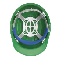 ERB Liberty 4 point Slide Lock Suspension | Customhardhats.com