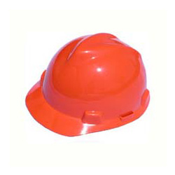 MSA Advance Cap Standard Hi-Viz Orange Hard Hat | Customhardhats.com