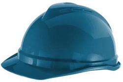 MSA Advance Cap - Blue Hard Hat | Customhardhats.com