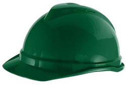 MSA Advance® Cap Standard Green Hard Hat | Customhardhats.com