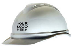MSA Advance white hard hat