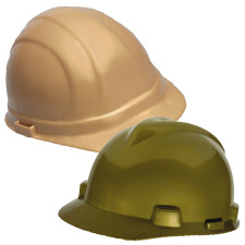 Gold and Silver Hard Hats
