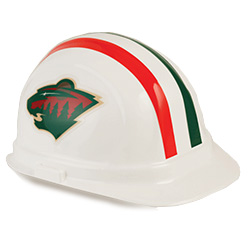 Minnesota Wild Team Hard Hats | Customhardhats.com