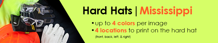 Custom Hard Hats for Customers in Mississippi | Customhardhats.com