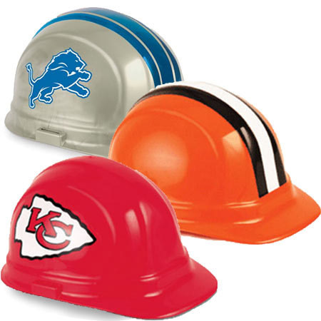 NFL Team Hard Hats | CustomHardHats.com