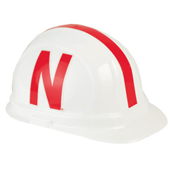 Nebraska Corn Huskers Team Hard Hat | Customhardhats.com