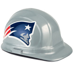 New England Patriots Team Hard Hat | Customhardhats.com