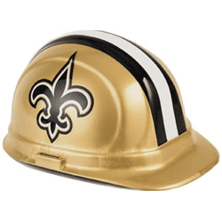 New Orleans Saints Team Hard Hat | Customhardhats.com
