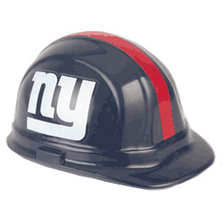 New York Giants Team Hard Hat | Customhardhats.com