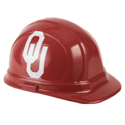 Oklahoma University Sooners Team Hard Hat | Customhardhats.com