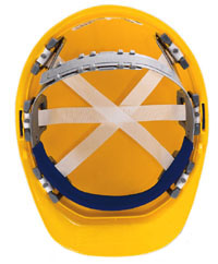 Omega II 6 pt Nylon Suspension | Customhardhats.com