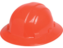 ERB Omega II Full Brim - Hi-Viz Orange | Customhardhats.com